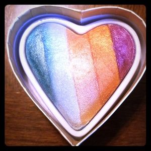 Makeup - A mermaid heart